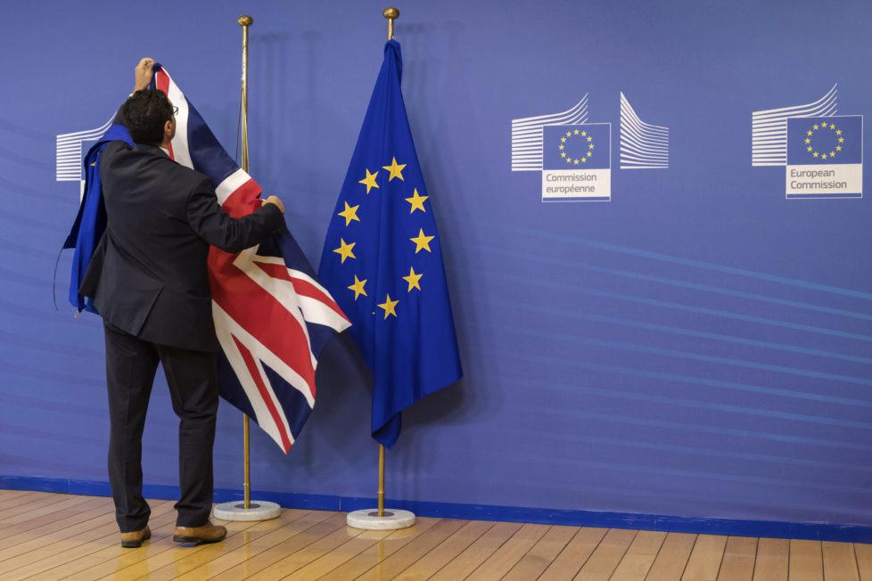 Getrennte Wege: Gegenüber dem Euro ist das Pfund unter Druck geraten. Foto: Keystone