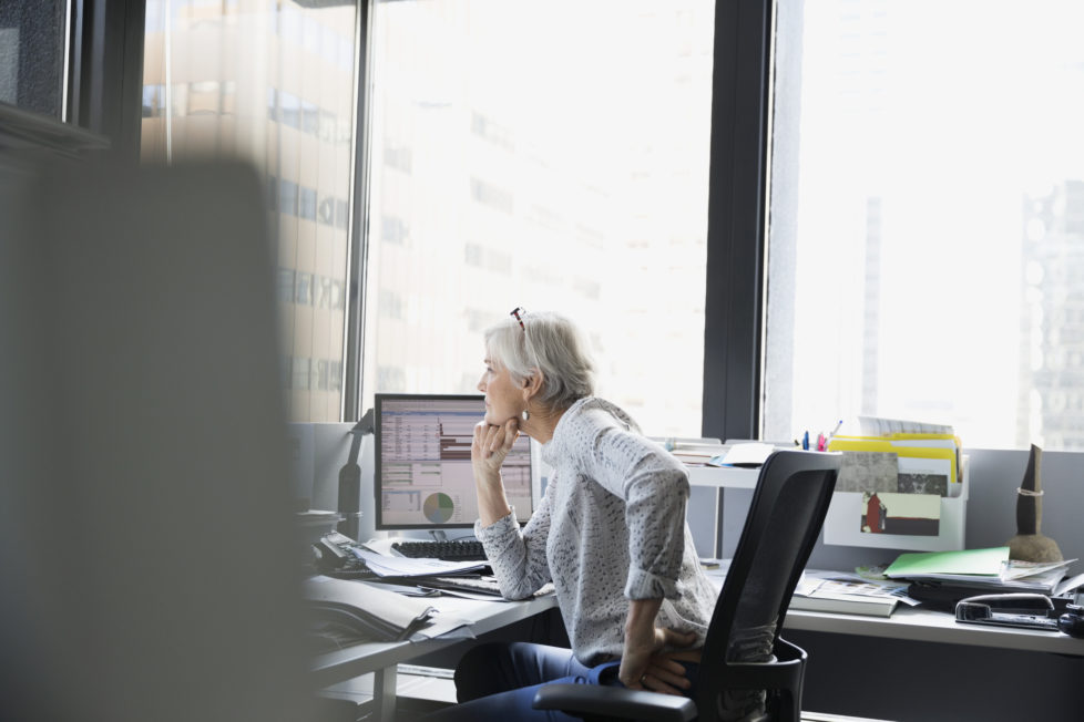 Rentenaufschub mit besseren Leistungen: Frauen können bis 69 arbeiten. Foto: Getty