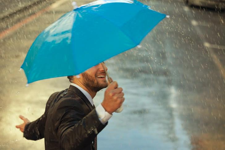 Auffangeinrichtung BVG: Die Stiftung lässt Selbstständige nicht im Regen stehen. Foto: Getty Images