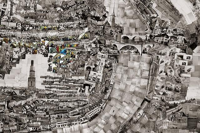 Ausschnitt aus der «Diorama Map» von Sohei Nishino (www.dasmagazin.ch)