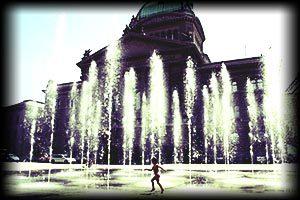 Bundesplatz, Wasserspiel, Wasser, Bundeshaus
