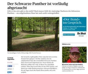 Der Bund berichtet über den Panther.