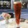 Bier mit roter Brause