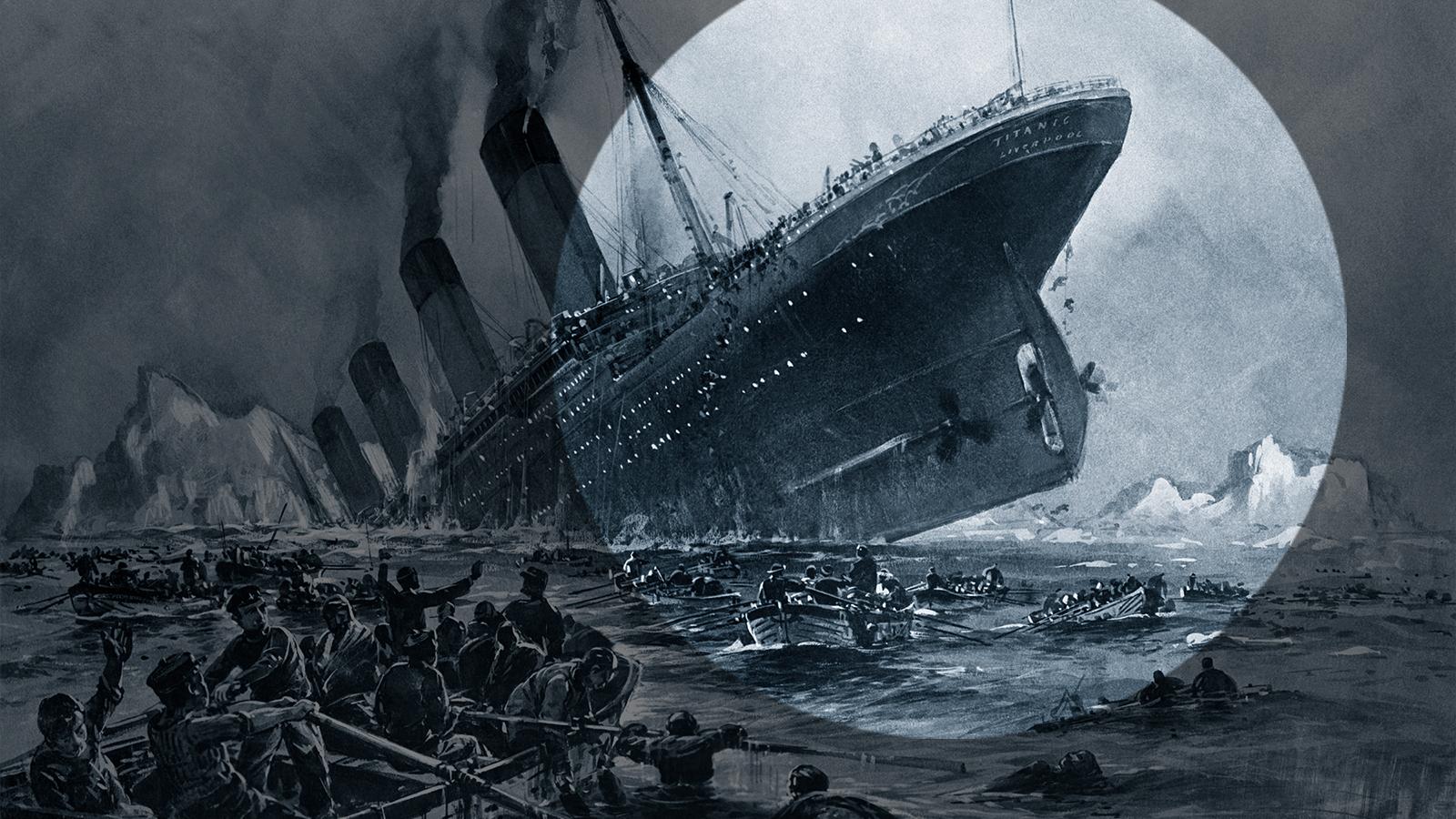 titanic unglück