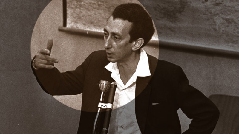 Abba Kovner – hier als Zeuge im Prozess gegen Adolf Eichmann 1961 in Jerusalem – organisierte den Widerstand nach der deutschen Besetzung Litauens. Foto: Universal History Archive, Getty Images