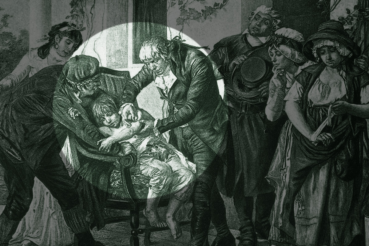 Pockenimpfung Geschichte