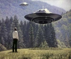 Die Sehnsucht nach Aliens ähnelt der Sehnsucht nach Gott: Imaginierte Ufo-Landung.