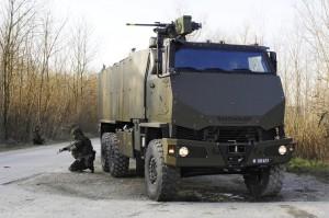 Exportschlager: Mannschaftstransportfahrzeug der Schweizer Firma Mowag. (Bild: Keystone)
