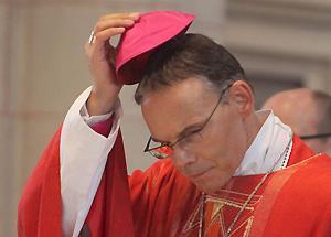 Sinnbild der Prunksucht: Ex-Bischof Tebartz-van-Elst. Foto: Keystone
