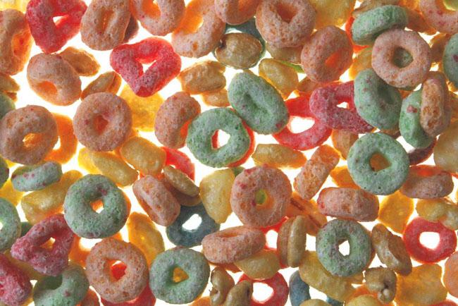 Farbige Versuchung: Süsse Frühstücksflocken von Kellogg's. (Bild: Keystone)