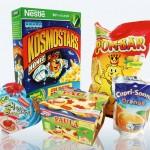 Diese Produkte waren <br />für den Schmähpreis «Goldener Windbeutel 2013» nominiert. <br />(Bild: foodwatch.org)