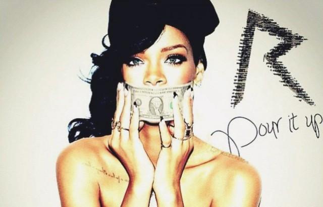 Cover der Rihanna-Single «Pour it Up». (Foto: Def Jam)