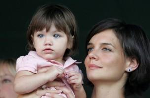 Armes Einzelkind: Katie Holmes und ihre Tochter Suri. (Getty Images/Toby Canham)