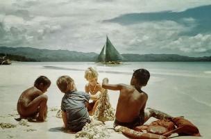 Kinder Strand Boracay