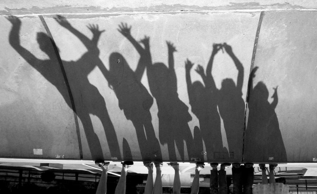 Mehr ist mehr: Famile in einem Skatepark. Foto: D. Sharon Pruitt (Flickr)