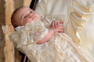 Prinz George bei seiner Taufe: Bei Königskindern ist die Namenswahl einfach. Foto: Keystone