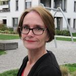 Christine Finke im Hof