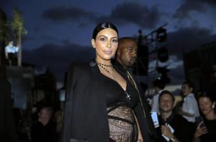 «Die Schwangerschaft ist die bisher schlimmste Erfahrung meines Lebens»: Kim Kardashian an der New Yor Fashion Week 2015. (Peter Foley, Keystone)