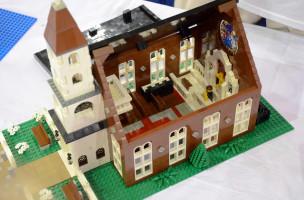 Weltreligion aus dänischem Kunststoff - eine Legokirche Foto: Andrew Albosta, Flickr.com
