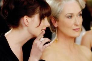 : Szene aus «The Devil Wears Prada» mit Anne Hathaway und Meryl Streep. (Reuters)