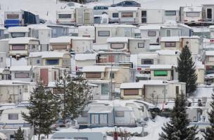 Leben und Leiden im Wohnwagen