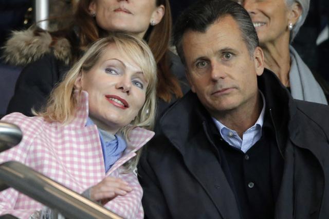 Reifes Elternglück: Philipp Hildebrand und Margarita Louis-Dreyfus freuen sich über Zwillings-Mädchen.(Keystone/Francois Mori)