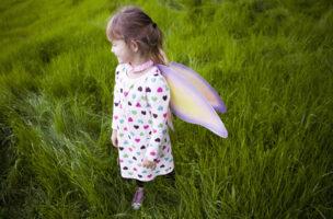 Sie befindet sich noch in einer wunderbaren kindlichen Fantasiewelt. Doch wie lange noch? Foto: Getty