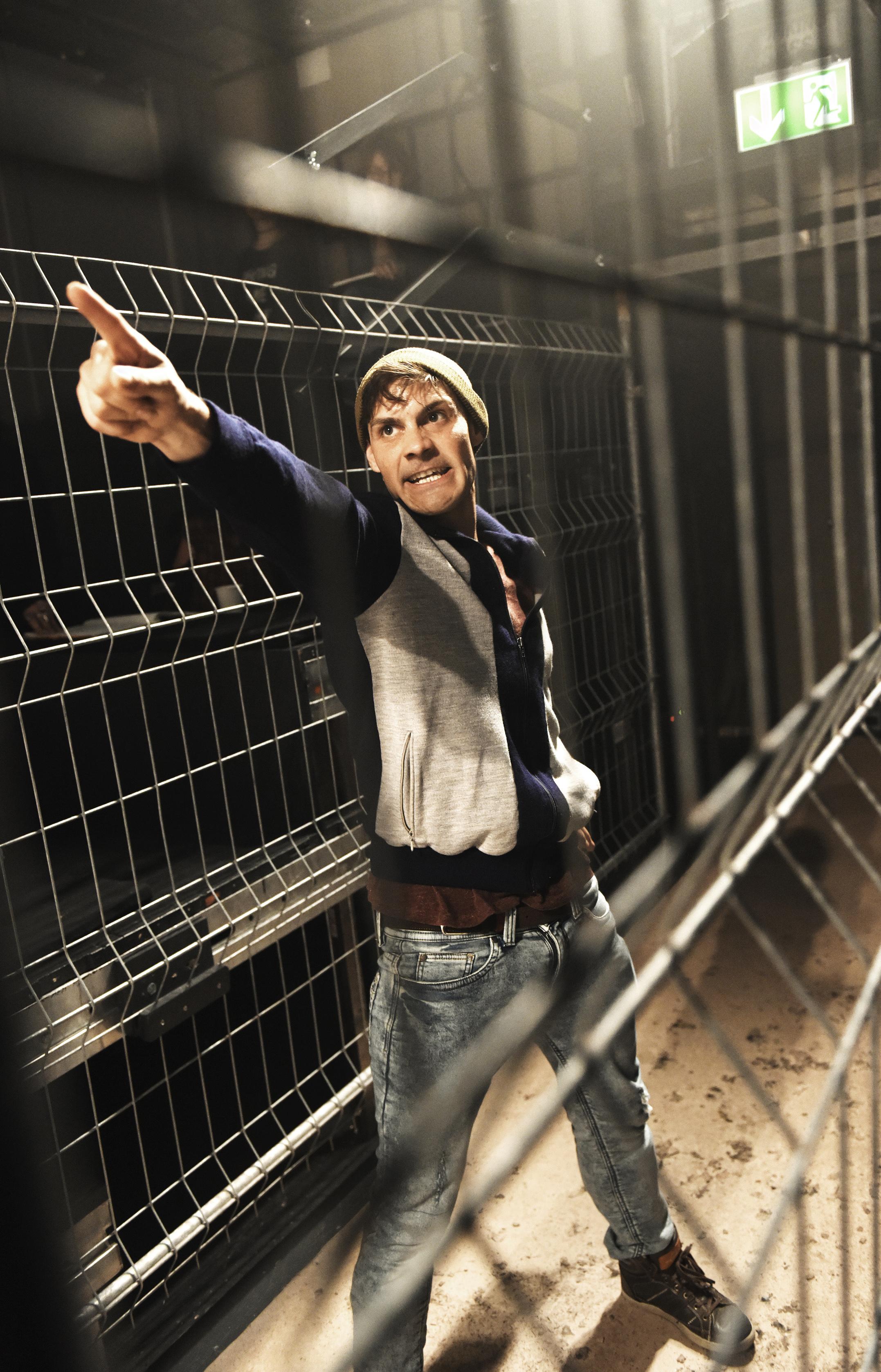 Fabian Müller als Damian. (Toni Suter/T+T Fotografie)