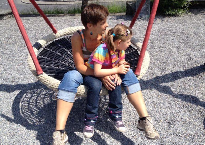 Bedingungslose Mutterliebe: Melanie und ihre Tochter Julia. (Bilder: Melanie Della Rossa)
