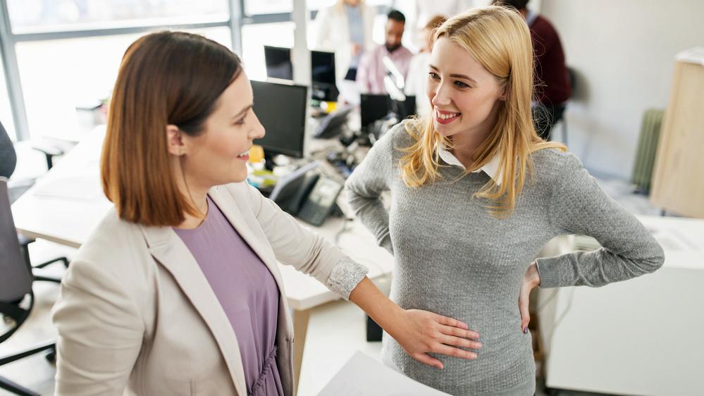Büroschreck Schwangerschaft
