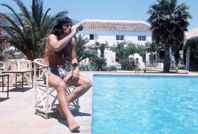 «Gebräu des Vertrauens»: Georg Best beim Trainingslager am Poll 1977.