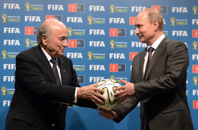 Brazil Russia WCup Soccer