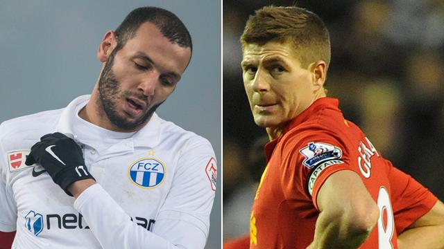 Zwei Persönlichkeiten, ein Job: Die Captains Chikhaoui (l.) und Gerrard. Fotos: Keystone