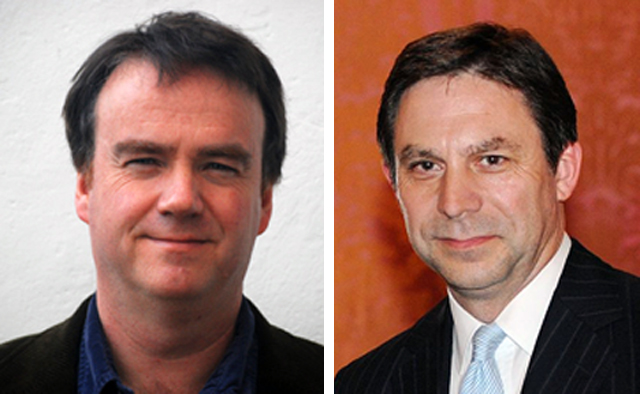 Die Ökonomen Kevin O'Rourke und Alan Taylor. (Foto: Wikipedia)