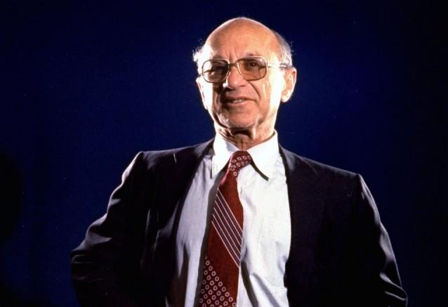 Der Ökonom Milton Friedman. (Keystone)