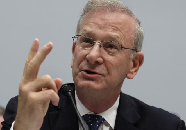 Ökonom Thomas Hoenig im Congress in Washington, 26. Juni 2013. (Reuters/Yuri Gripas)