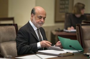 Bernanke Attends Board of Governors Meeting in Washington DC
