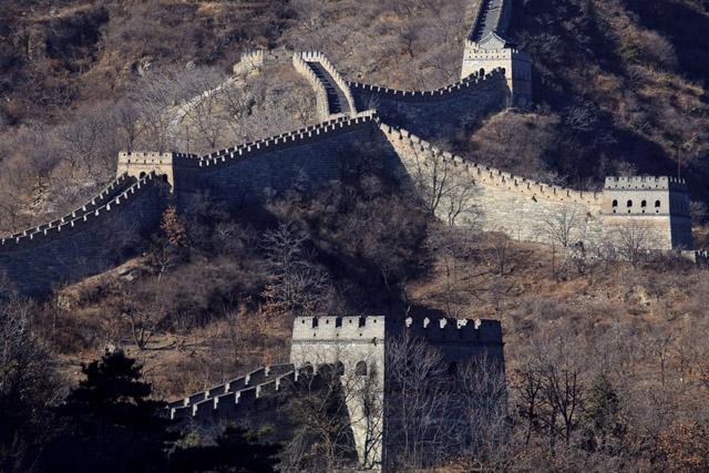 Die Chinesische Mauer. (Foto: Adrian Bradshaw/ Keystone)