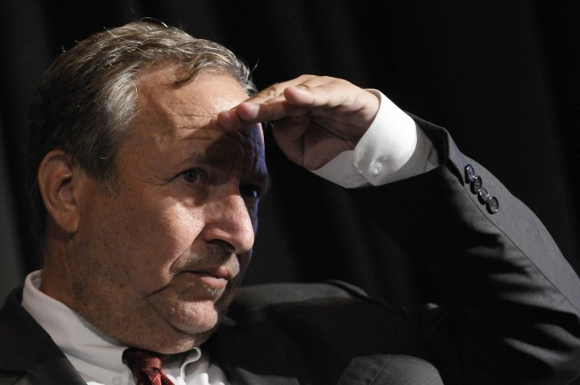 Ökonom Larry Summer. (Reuters/Jonathan Ernst)