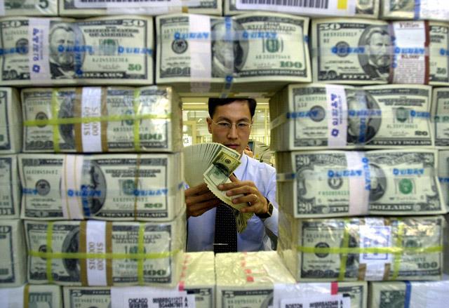 Noch keine Konkurrenz in Sicht: Der US-Dollar bleibt die Leitwährung. Foto: Keystone