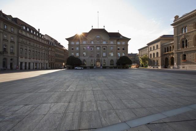 Schweizerische Nationalbank in Bern. (Keystone/ Gaëtan Bally)