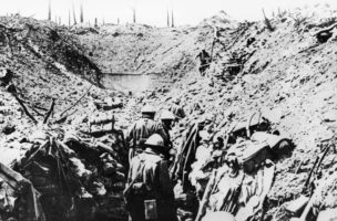 Die Schlacht in der Marne-Ebene. (Bild: Keystone)