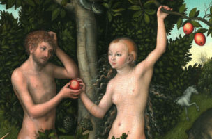 {{title|{{Adam and Eve}}}}1526{{Technique|oil|panel}}{{Size|cm|117|80}}