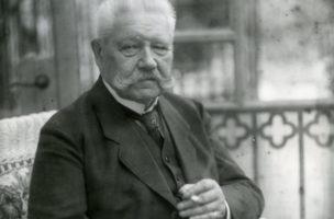Kein Vorbild für Demokratie: Reichspräsident Paul von Hindenburg 1928.
