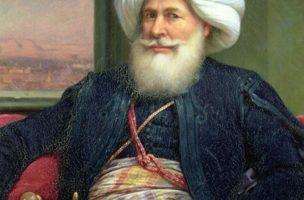 Muhammad Ali Pascha (1770-1849) auf einem Gemälde von Auguste Couder. Bild: Wikimedia