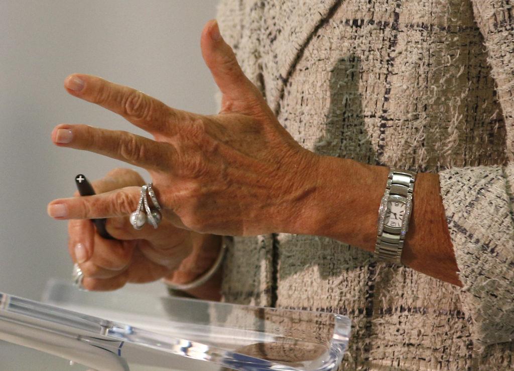 Weit weg von den Standpunkten von vor 20 Jahren: IWF-Direktorin Christine Lagarde in London. Foto: Peter Nicholls (Reuters)