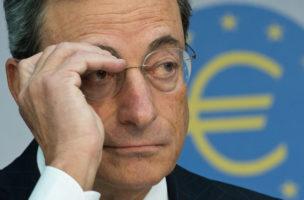 An den Grenzen der Notenbankpolitik: EU-Notenbankchef Mario Draghi. (Keystone/Boris Rössler)