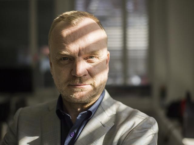 Auf Userfang im Ausland: Watson-Chef Hansi Voigt. Foto: Gaëtan Bally (Keystone)