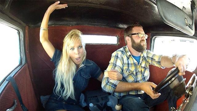 Festhalten, Raser am Werk: Gehört «Top Gear USA» zum Service public? Foto: PD