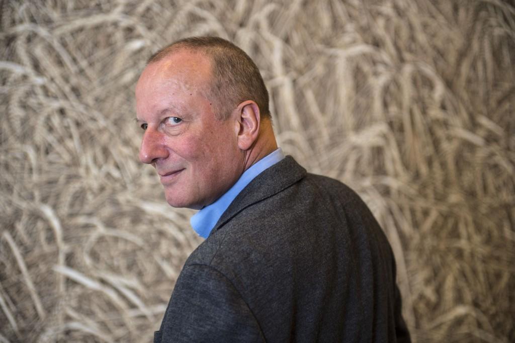Der SRG-Chef macht sich fit für die Onlinewerbung: Roger De Weck auf Besuch bei Tamedia. Foto: Reto Oeschger